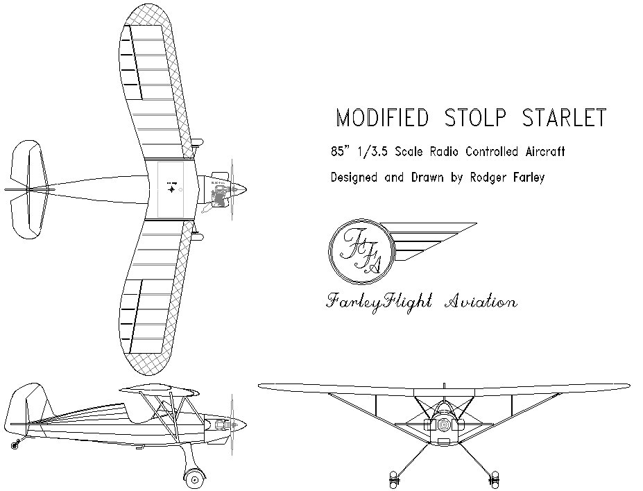 Stolp Starlet 3-view